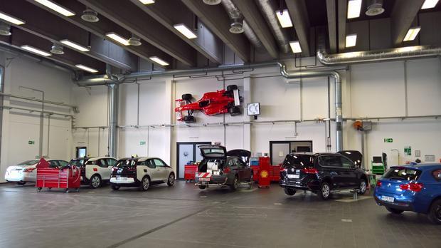 Oto część testowej floty Shell. W parku takie marki jak Audi, BMW, Ford, Opel, Toyota i VW