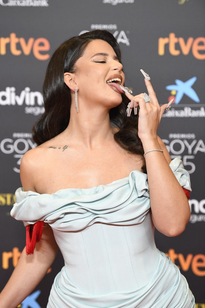 Pevačica Nati Pelusi privukla je najviše pažnje