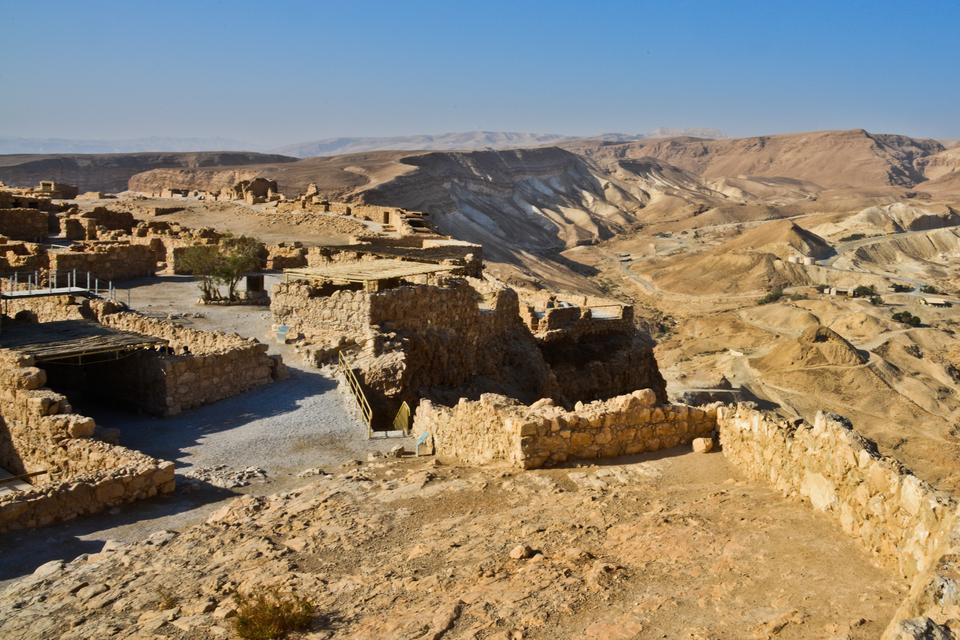 Masada znajduje się na Liście Światowego Dziedzictwa UNESCO.