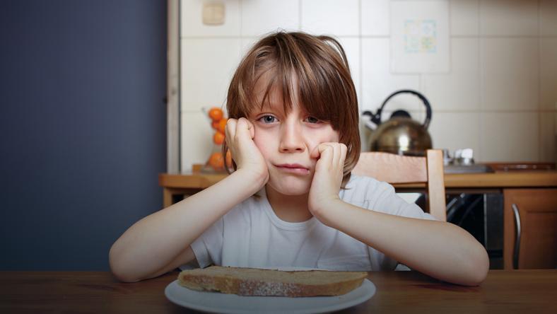 Niedożywienie jest główną przyczyną zahamowania wzrostu u dzieci