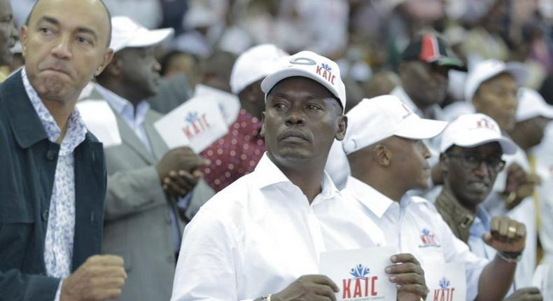 Peter Kenneth and Governor William Kabogo