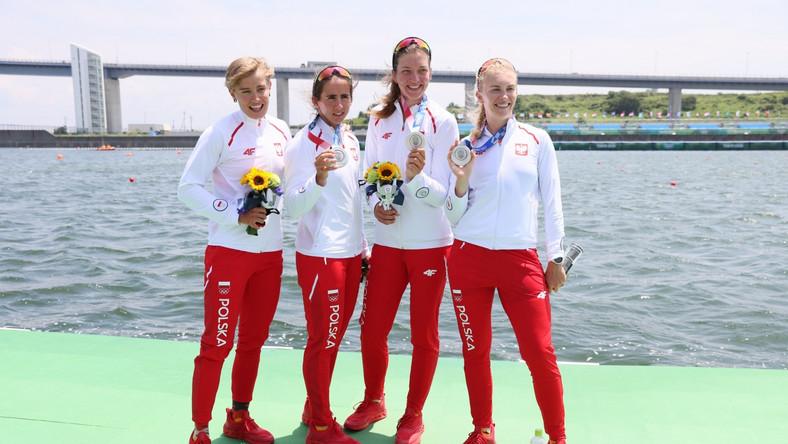 Agnieszka Kobus-Zawojska, Marta Wieliczko, Maria Sajdak, Katarzyna Zillmann zajęły drugie miejsce zdobywając srebrny medal olimpijski w finałowym wyścigu czwórek podwójnych kobiet