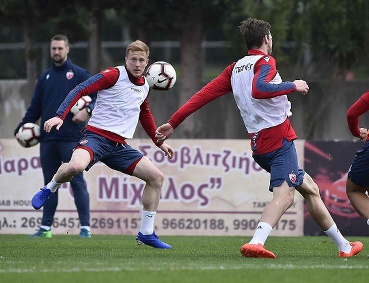 FK Crvena Zvezda pripreme na Kipru