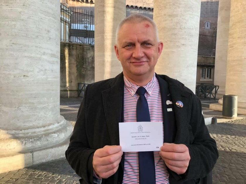 Marek Lisiński, były szef fundacji Nie Lękajcie Się