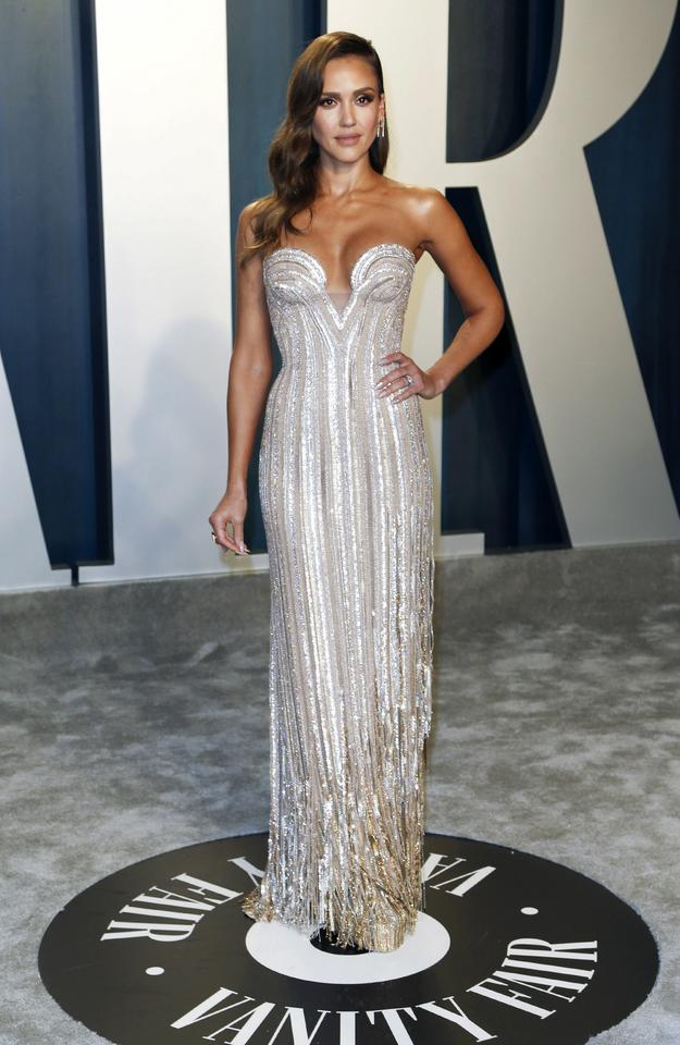 Oscary 2020: Jessica Alba na Vanity Fair Oscar Party