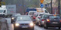 Rondo korkuje ulicę Krakowską