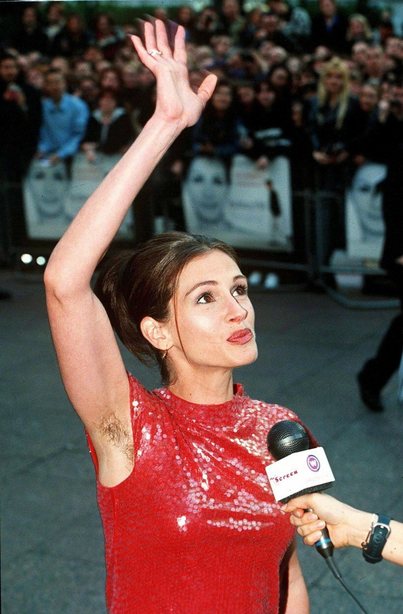 Džulija Roberts 1999. godine na premijere Notting Hill