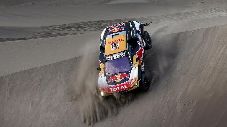 Stephane Peterhansel - Peugeot 3008 DKR