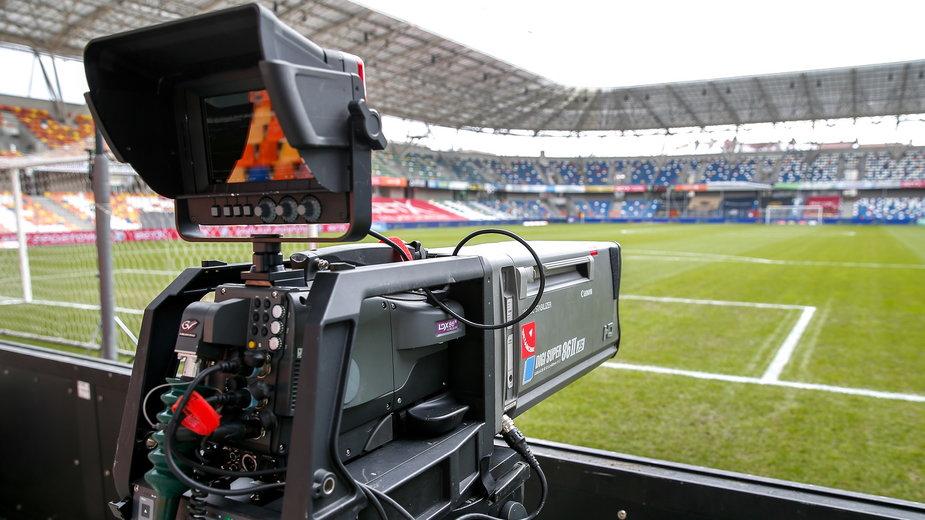 Stadion Podbeskidzia Bielsko-Biała w oku kamery