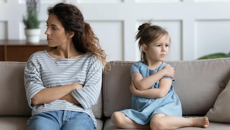 Matka i córka, relacje z mamą
