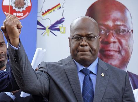 DRC new President, Felix Tshisekedi