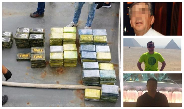 Srbi uhapšeni zbog šverca 800 kg kokaina