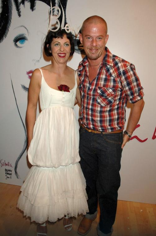 Isabella Blow i Alexander McQueen