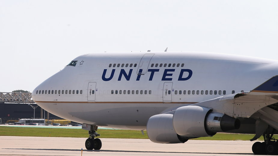 Samolot United Airlines ewakuowany z powodu żartu nastolatka