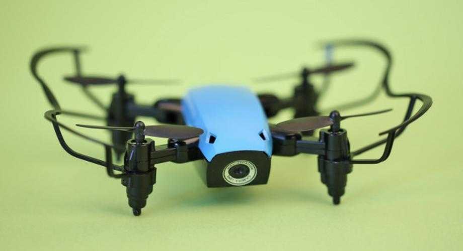 Mini-Drohne S9W im Test: fliegt super, filmt mies