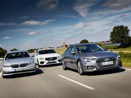 Audi A6 kontra Volvo S90 i BMW serii 5 - pojedynek na szczycie