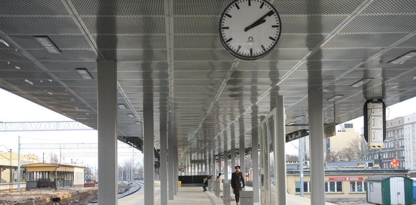 Nowy peron już działa!