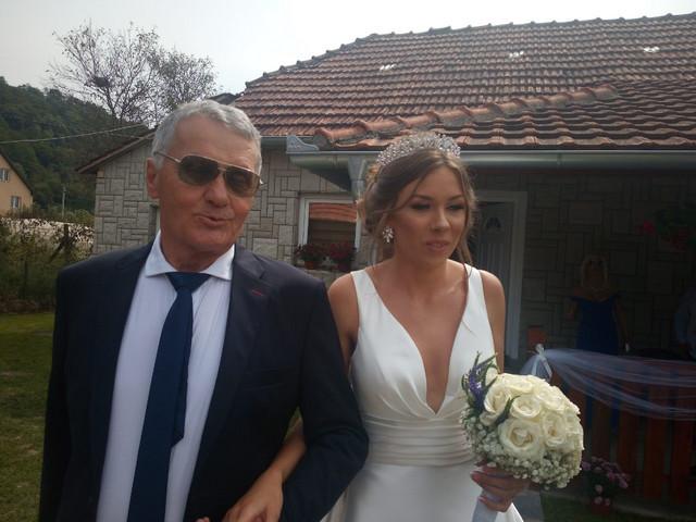 Milijana Bogdanović i Milojko Božić - svadba