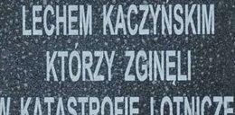 Błąd na tablicy w Smoleńsku!