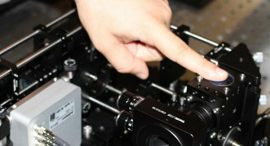 Scanner unterscheidet echte Finger von Attrappen