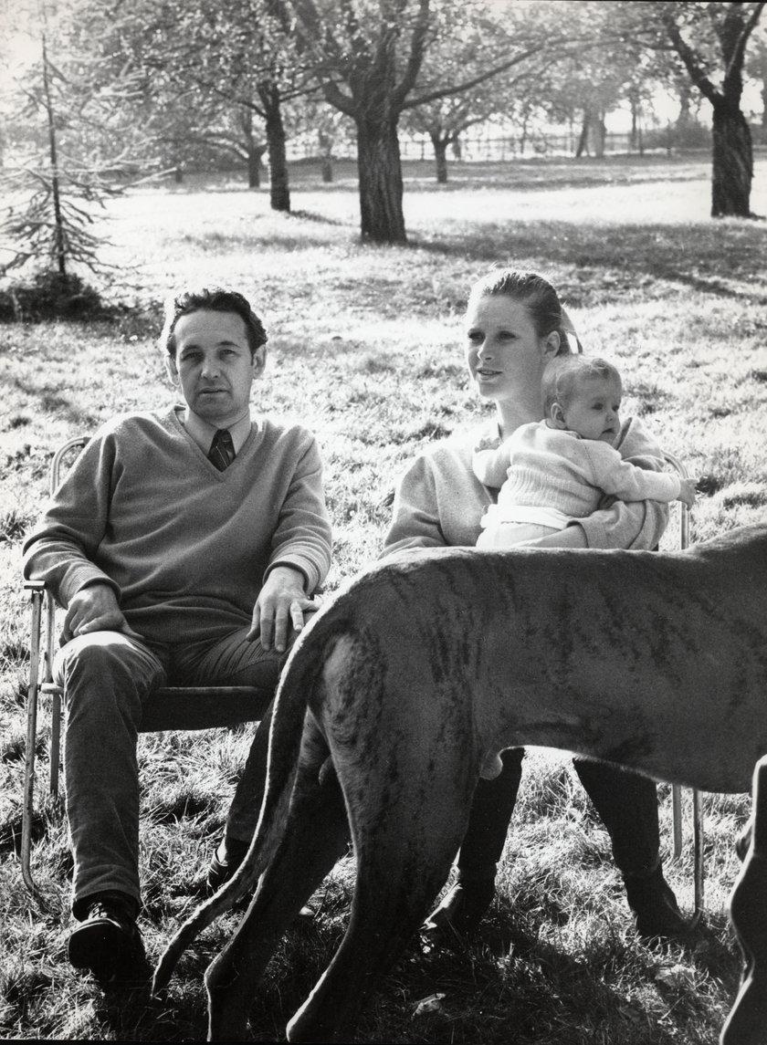 Beata Tyszkiewicz i Andrzej Wajda