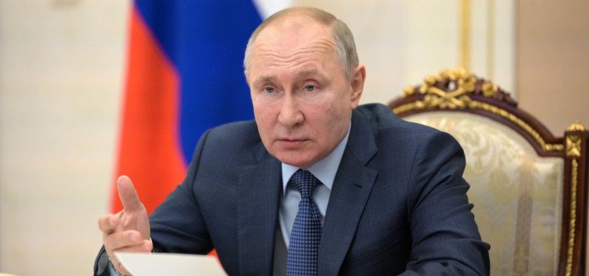 """Zastanawiający komunikat Kremla o Władimirze Putinie. """"Prezydent jest absolutnie zdrowy"""""""