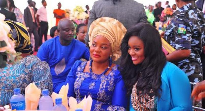 Jackie Appiah and Benue First Lady