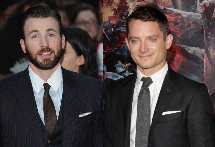 34 lata: Chris Evans i Elijah Wood