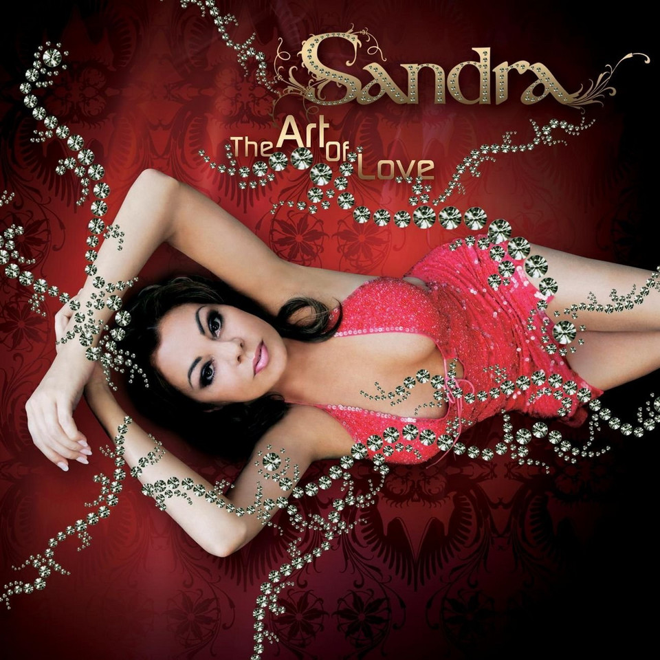 "Sandra na okładce albumu ""The Art Of Love"""