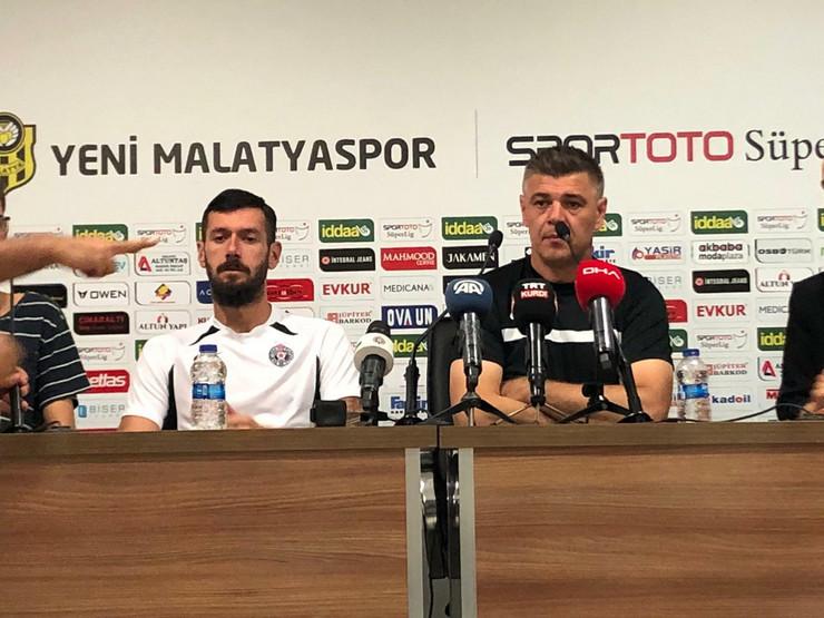 Savo Milošević i Aleksandar Šćekić pred Malatju