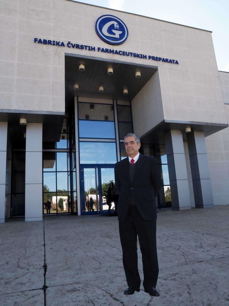 Ambasador Brazila Eduardo Boteljo Barboza u poseti Galenici