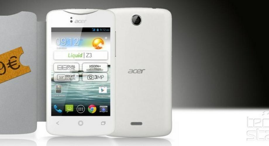 Acer Liquid Z3: 99-Euro-Androide für Kinder & Senioren