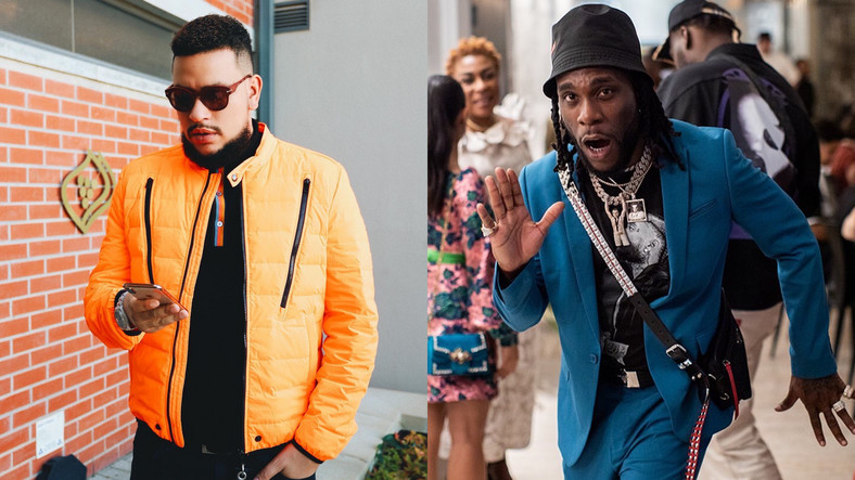 In a series of tweets, Burna Boy took direct shots at AKA for his stand on the Xenophobic attacks on Nigeria in South Africa