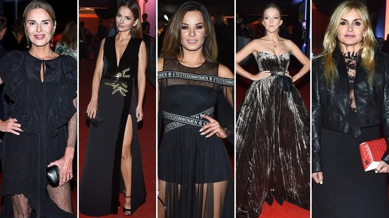 Gwiazdy w czarnych stylizacjach na Flesz Fashion Night 2017