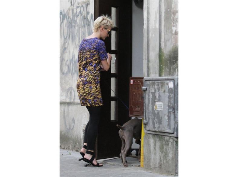 Butów, które założyła Małgorzata Kożuchowska, nie powstydziłaby się sama Lady Gaga.