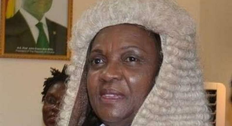 Justice Georgina Theodora Woode - Chief Justice