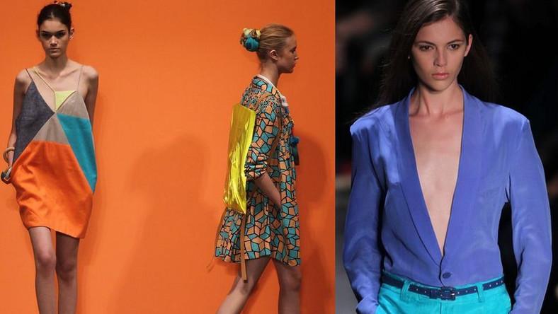 Moda na kolor! Rozpusta barw na wybiegu