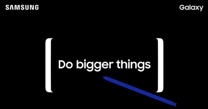 Samsung zaprezentuje smartfon Galaxy Note8 23 sierpnia 2017 r.