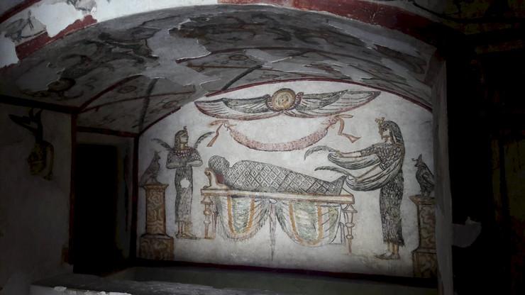 Egipat katakombe, EPA