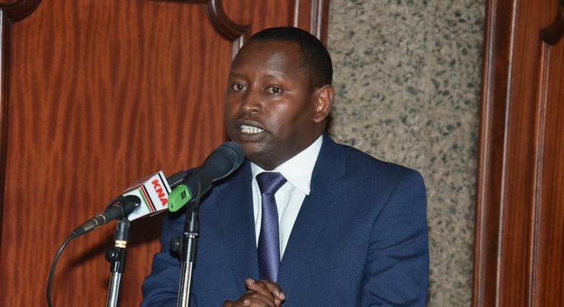 Samburu Governor Moses Lenolkulal Kasaine