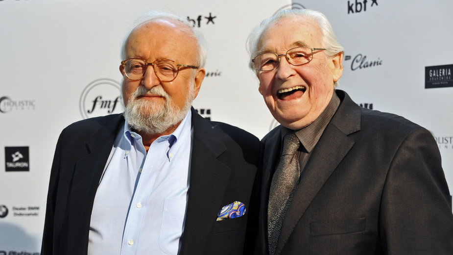 Krzysztof Penderecki i Andrzej Wajda