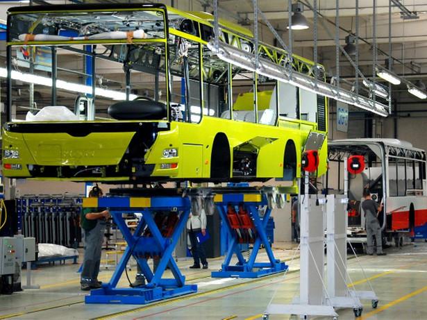 Produkcja autobusów, zakład MAN w Starachowicach