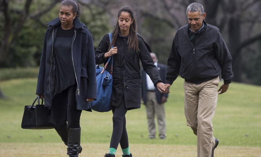 Obama z Córkami