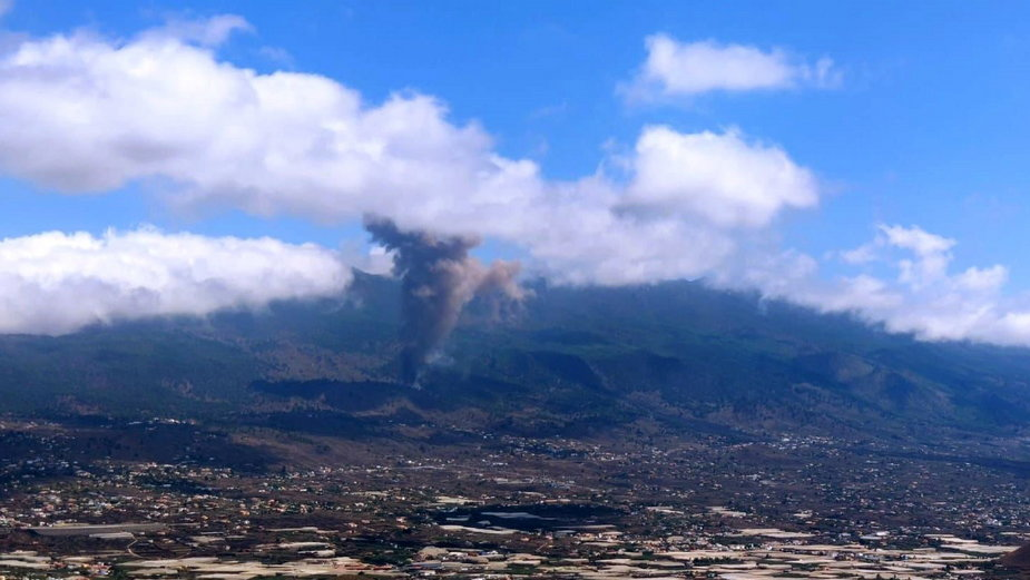 Erupcja wulkanu Teneguia