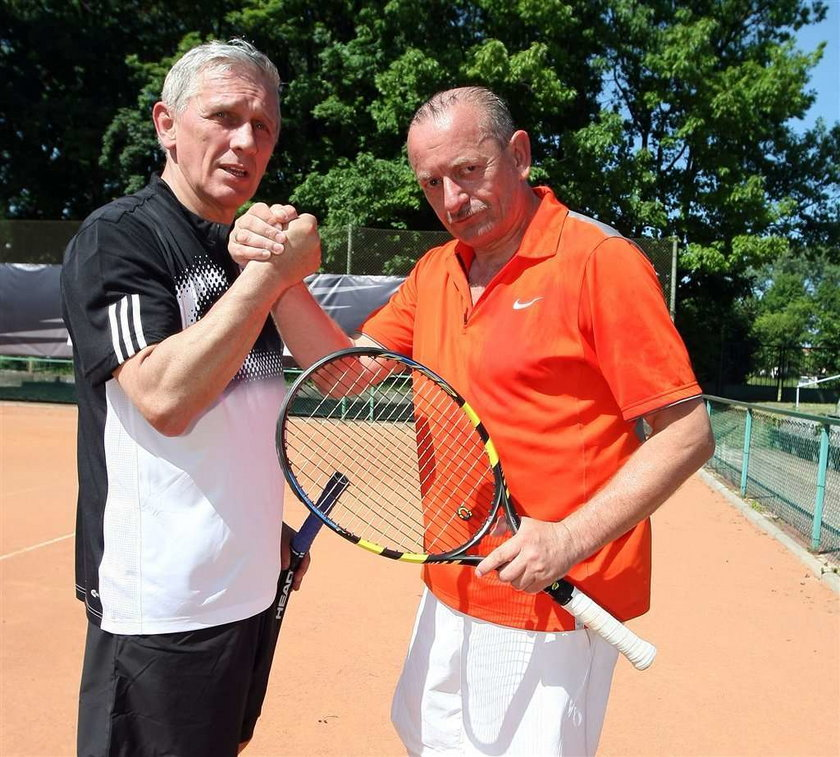 Englert nie ma czasu grać w tenisa