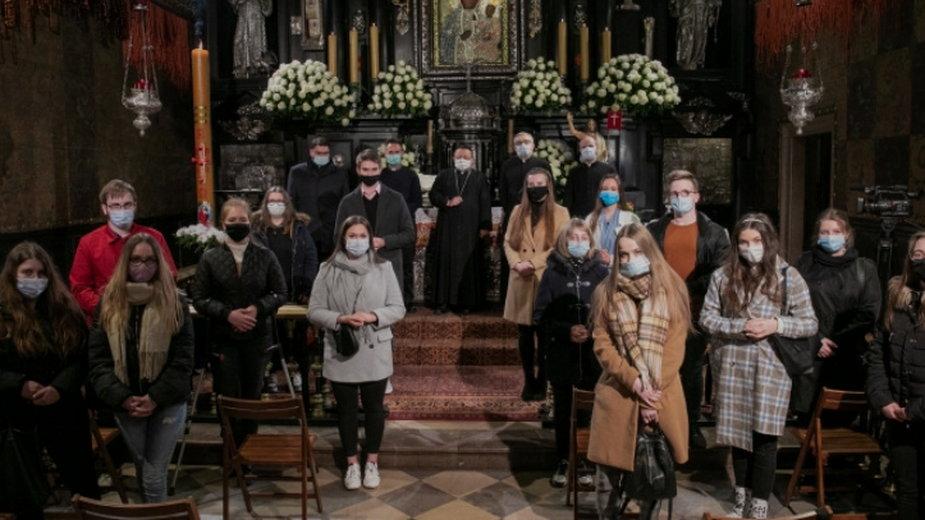 Pielgrzymka maturzystów Archidiecezji Łódzkiej na Jasna Górę w pandemii 2021