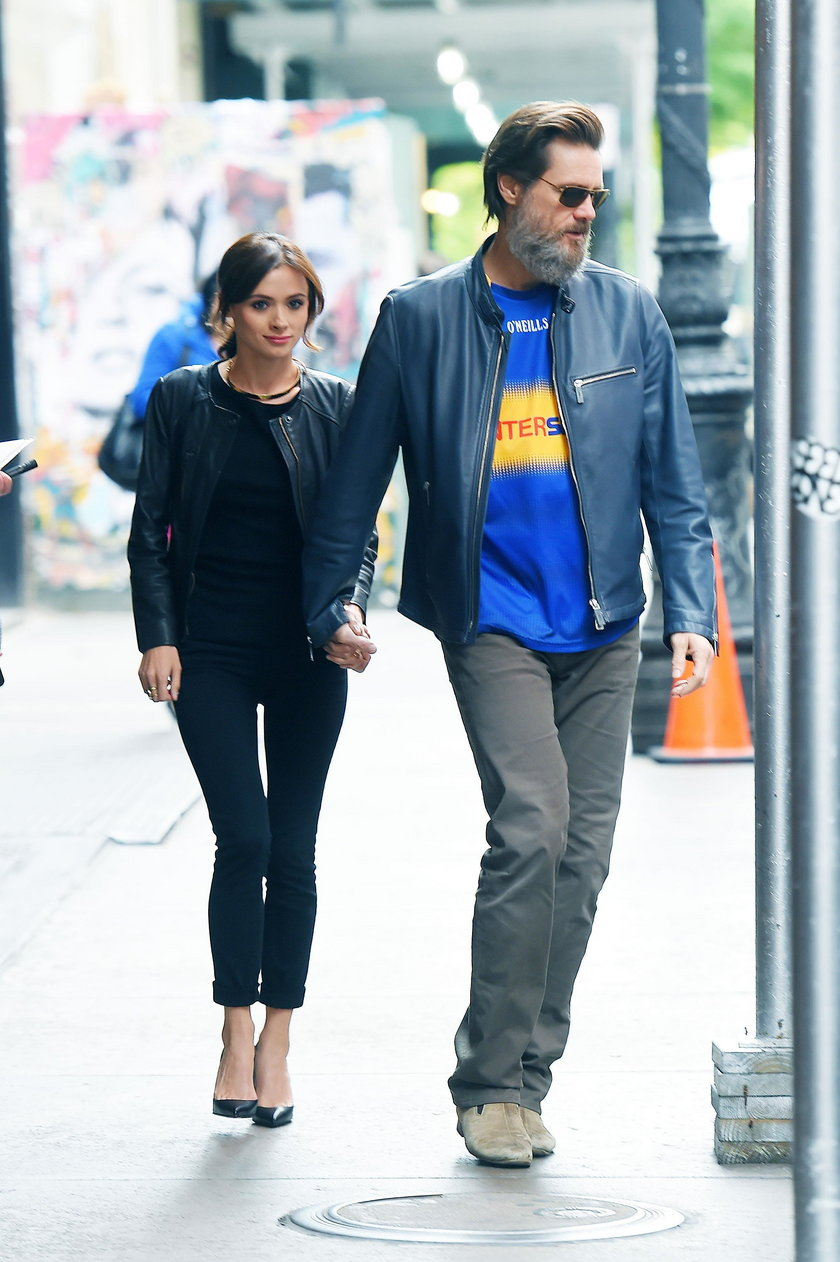 Jim Carrey i Cathriona White