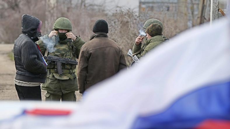 Oddziały wojskowe na Krymie