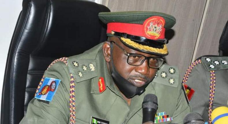 Director, Army Public Relations, Brig.-Gen. Mohammed Yerima. [amt247]