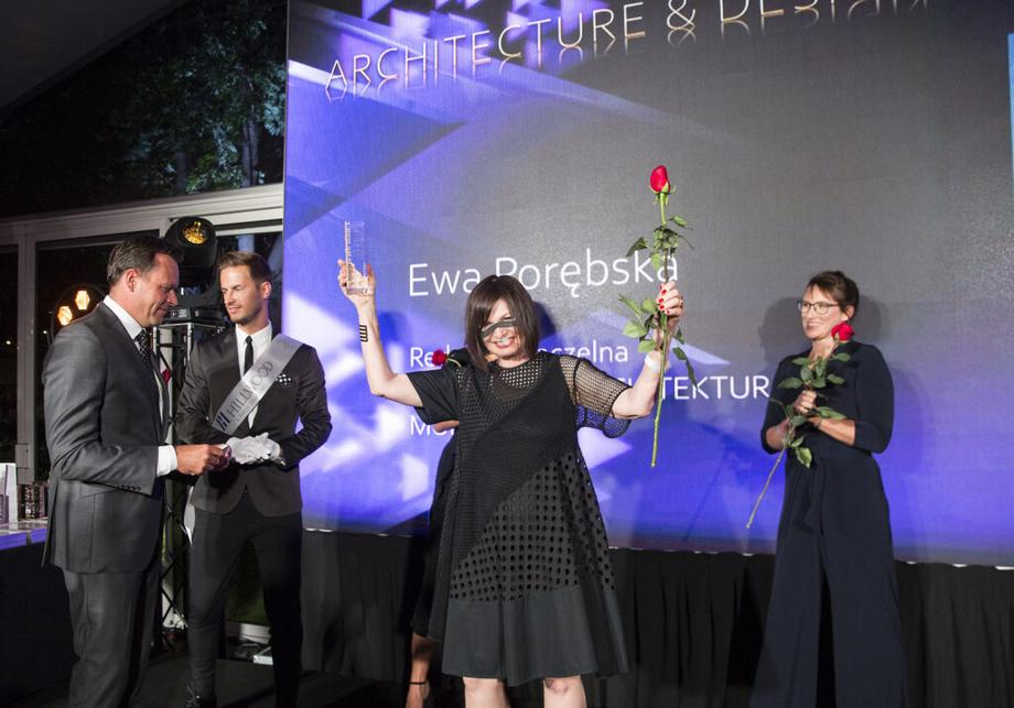 Ewa P. Porębska – laureatka Top Woman in Real Estate w kategorii Architecture & design